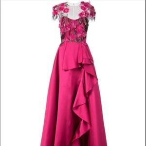 Marchesa Notte Mikado Ball Gown